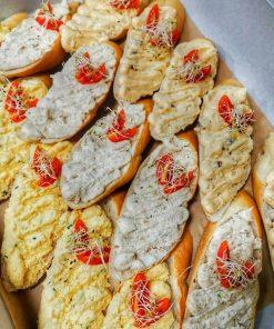 Nátierkové chlebíčky od FRESH SNACK Trenčín