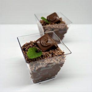 Čokoládový pohárik
