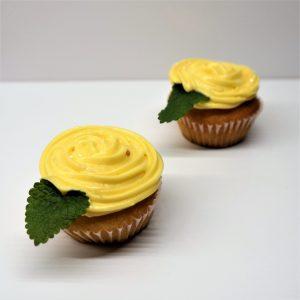 Cupcake ružička , žltý