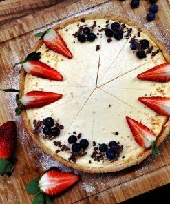 cheesecake jahodovo čučoriedkový fresh snack trenčín