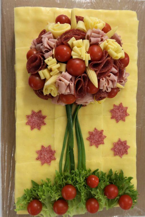 Slaná torta extra veľká 6kg od FRESH SNACK Trenčín
