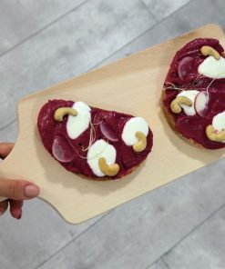 Excluzívny chlebíček od FRESH SNACK TRenčín - cviklový