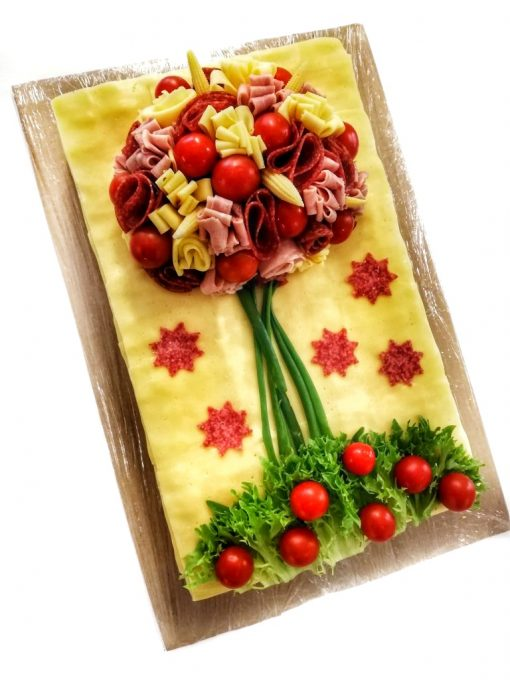Slaná torta syrová KVETINA od FRESH SNACK Trenčín