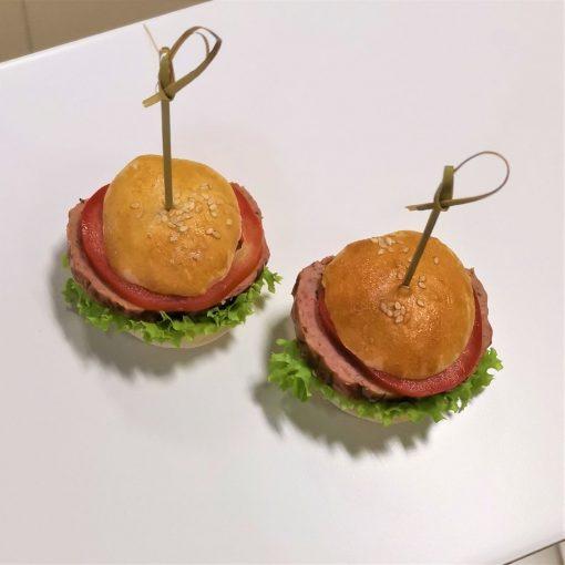 Miniburger od FRESH SNACK Trenčín burger pre deti