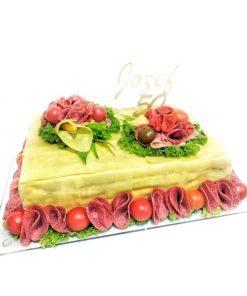 Slaná torta syrová KLASIK veĺkosť L
