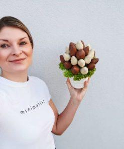 cokoladova jahodova kytica od FRESH SNACK Trenčín