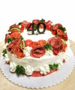 Slaná torta MODERN kruh od FRESH SNACK Trenčín