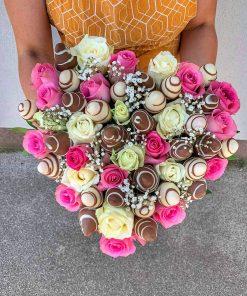 Luxusný box z ruží od FRESH SNACK Trenčín