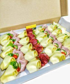 Chlebíčkový degustačný box 20ks od FRESH SNACK Trenčín